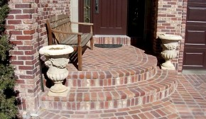Brick Paver Entry