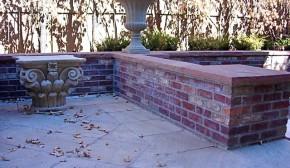 Brick Planters/Seat Walls