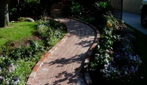 Brick Paver Sidewalk